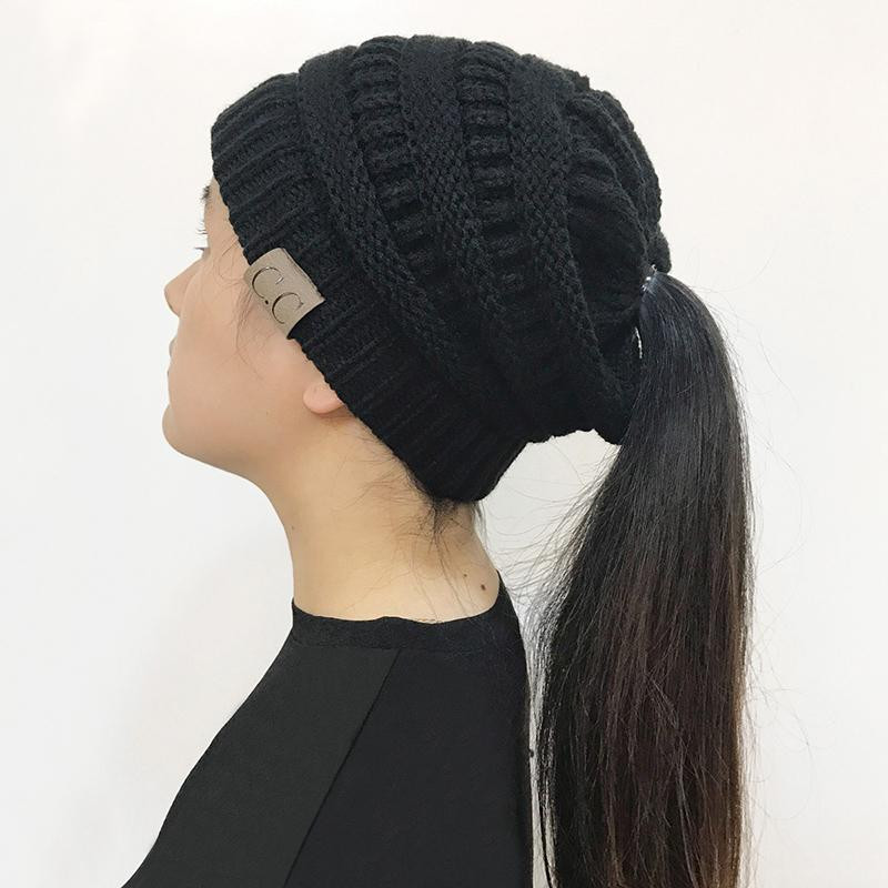 Luxury Messy Bun Ponytail Beanie Off – Besells Ponytail Winter Hat Of Incredible 45 Pictures Ponytail Winter Hat