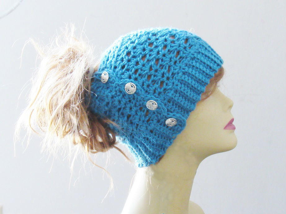 Luxury Messy Crochet Bun Hat Ponytail Hats Free Patterns Of Incredible 42 Ideas Ponytail Hats Free Patterns