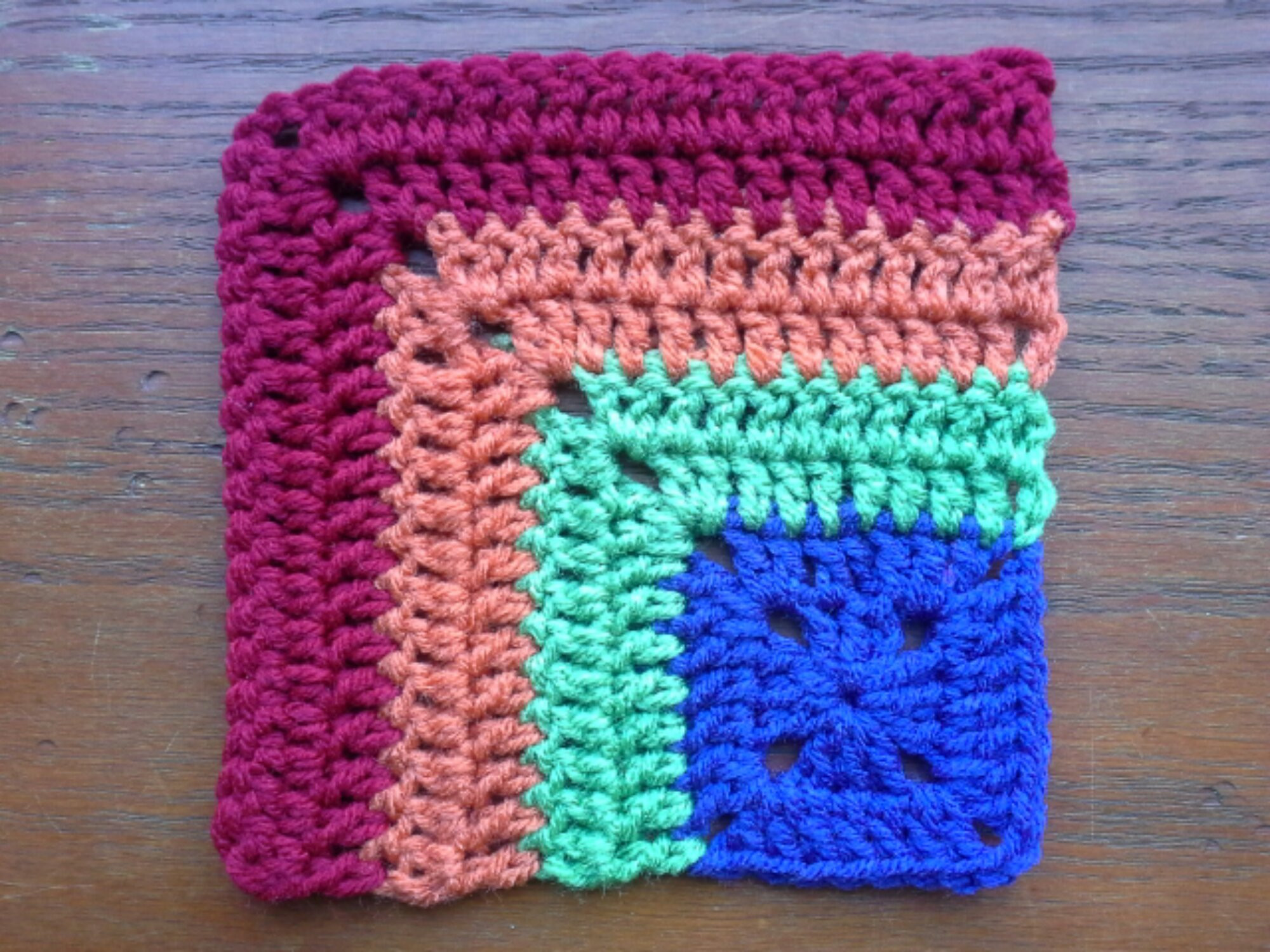 Mighty Mitered Crochet Squares – the sparkly toad