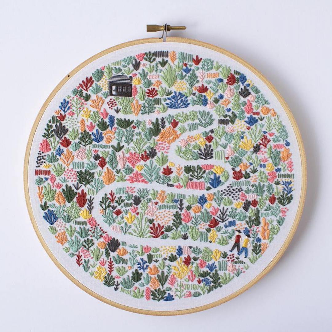 Luxury Modern Embroidery Patterns Highlight the Collaborative Modern Embroidery Patterns Of Brilliant 49 Pics Modern Embroidery Patterns