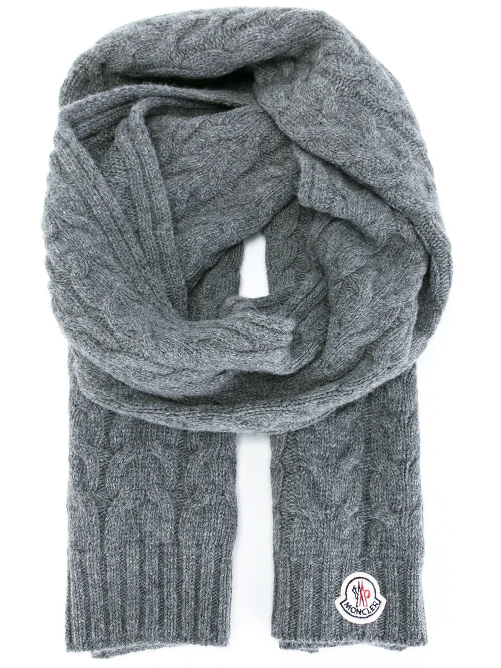 Luxury Moncler Cable Knit Scarf In Gray for Men Grey Cable Knit Scarf Of Delightful 48 Ideas Cable Knit Scarf