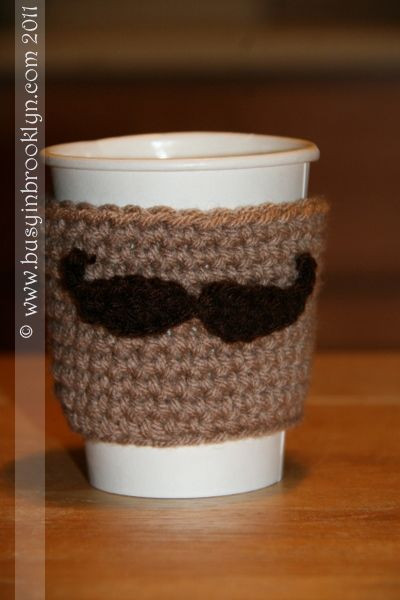 Luxury Mustache Coffe Cozy Pattern Crochet Pinterest Coffee Cup Cozy Of Awesome 47 Images Coffee Cup Cozy