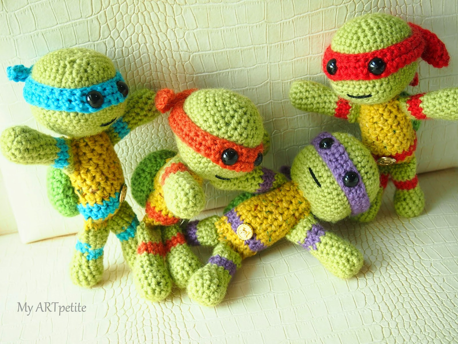 Luxury My Artpetite Free Crochet Pattern Teenage Mutant Ninja Crochet Turtle Of Innovative 48 Images Crochet Turtle