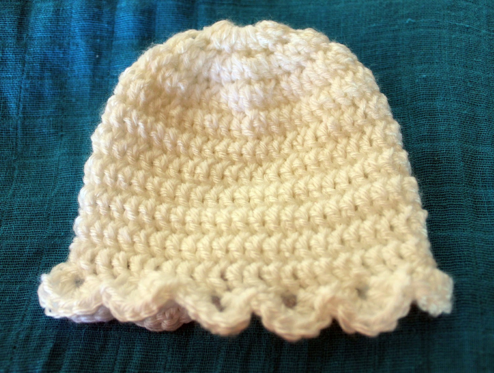 My Free Newborn Crochet Beanie Pattern Move Fuel Love