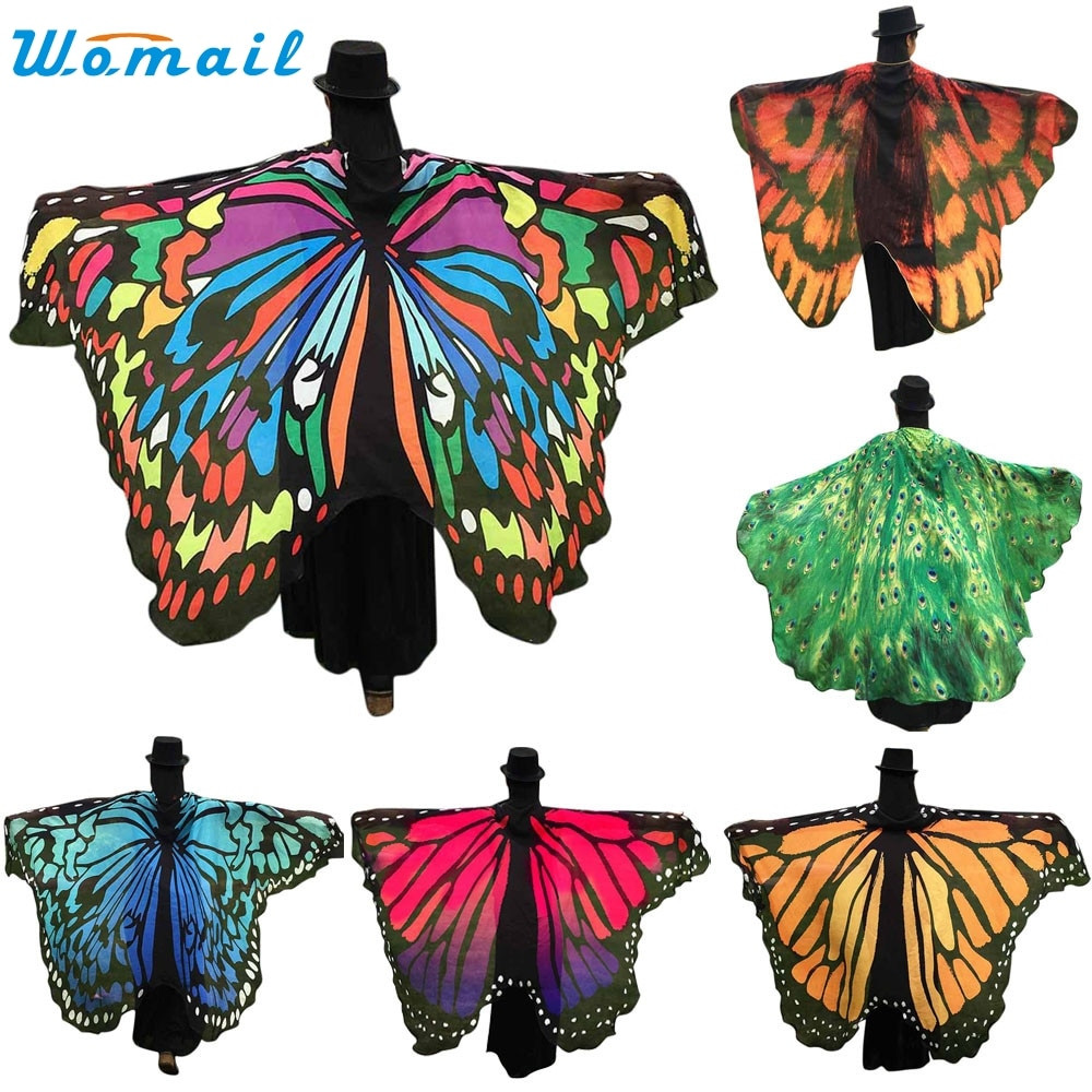 Luxury New 2017 butterfly Wings Shawl Women Beach Cover Ups Dress butterfly Shawl Of Wonderful 44 Pics butterfly Shawl