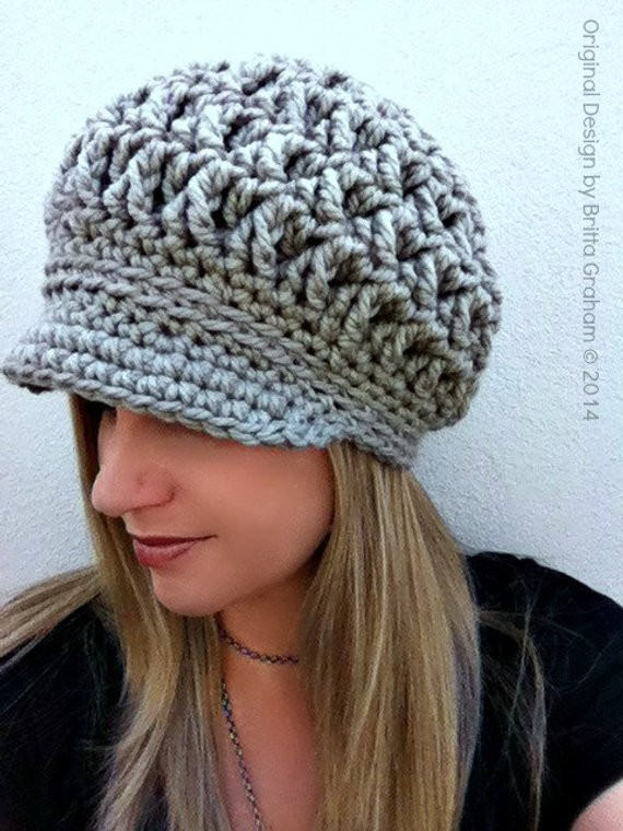 Luxury Newsboy Crochet Hat Pattern for Super Bulky Yarn the Chunky Crochet Hat Pattern Of Delightful 50 Ideas Chunky Crochet Hat Pattern