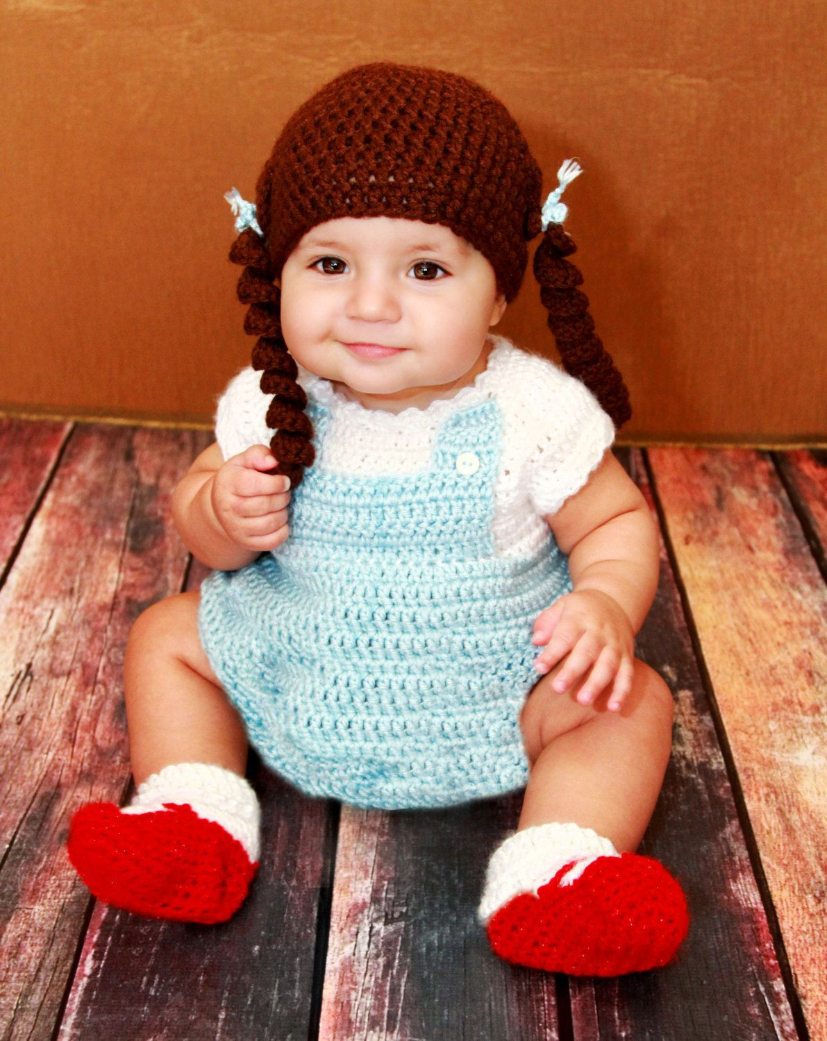 Luxury Omg I Just D Dorothy From the Wizard Of Oz Crochet Baby Costumes Of Incredible 41 Models Crochet Baby Costumes