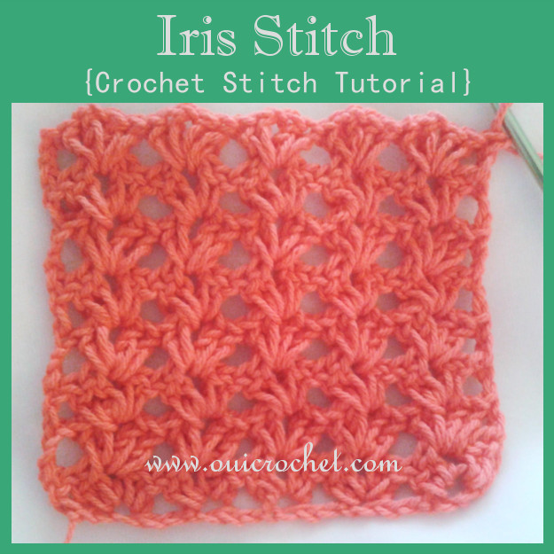 Luxury Oui Crochet Iris Stitch Crochet Stitch Tutorial Pretty Crochet Stitches Of Incredible 48 Pics Pretty Crochet Stitches