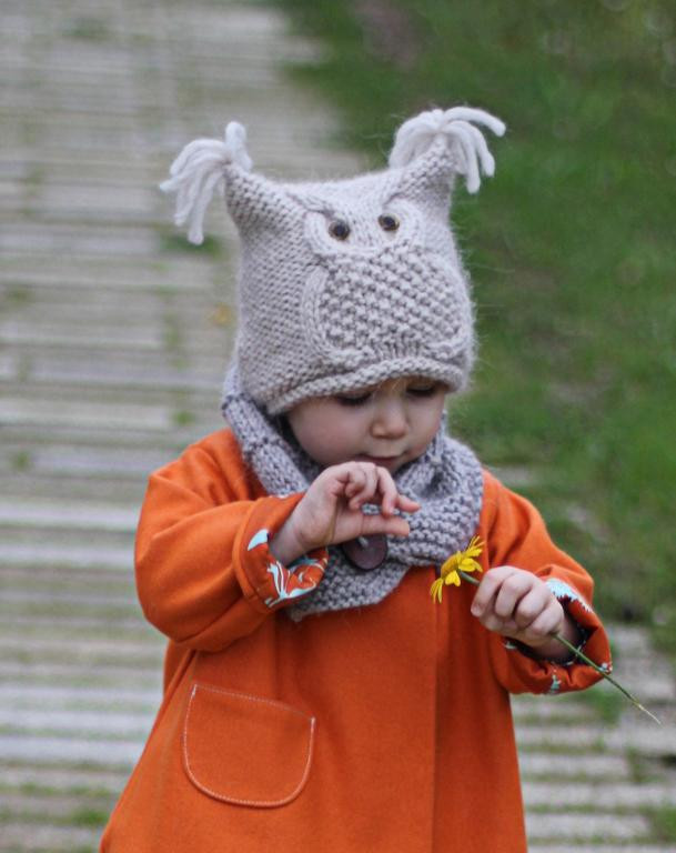 """Owl hat """"Chouette"""" by KatyTricot Craftsy"""