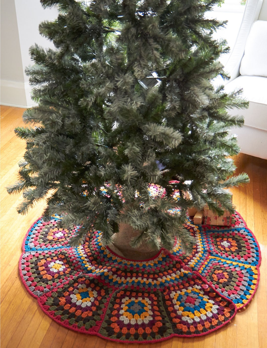 Luxury Patons Tricia S Tree Skirt Crochet Pattern Crochet Tree Skirt Of Innovative 45 Ideas Crochet Tree Skirt