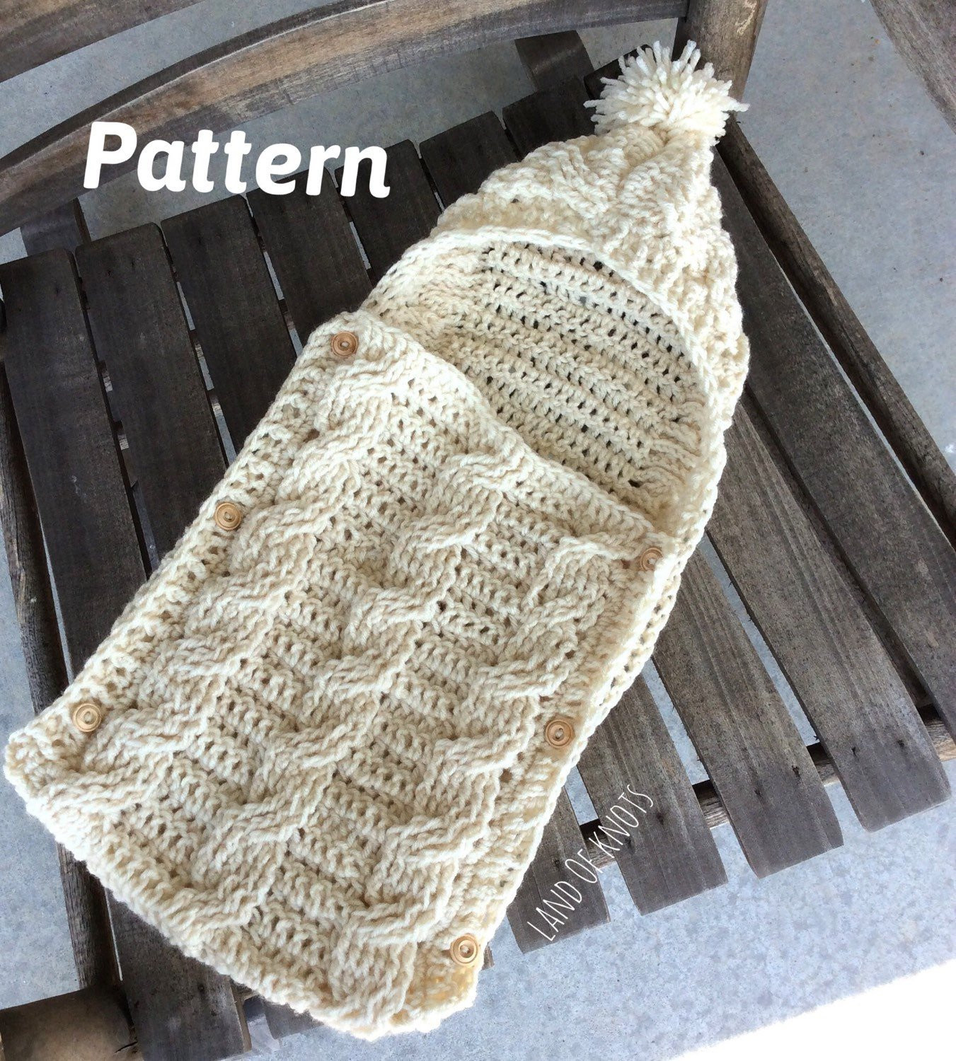 Luxury Pattern Crochet Swaddle Pattern Cable Crochet Pattern Crochet Baby Cocoon Of Great 44 Models Crochet Baby Cocoon