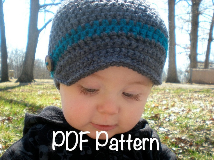 Luxury Pattern Wiseguy Hat Easy Crochet Newborn to Adult Free Crochet Hat Patterns for Boys Of Fresh 46 Photos Free Crochet Hat Patterns for Boys