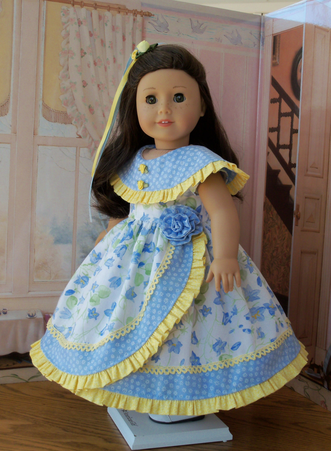 PDF Sewing Pattern for American Girl Doll Morning Glory