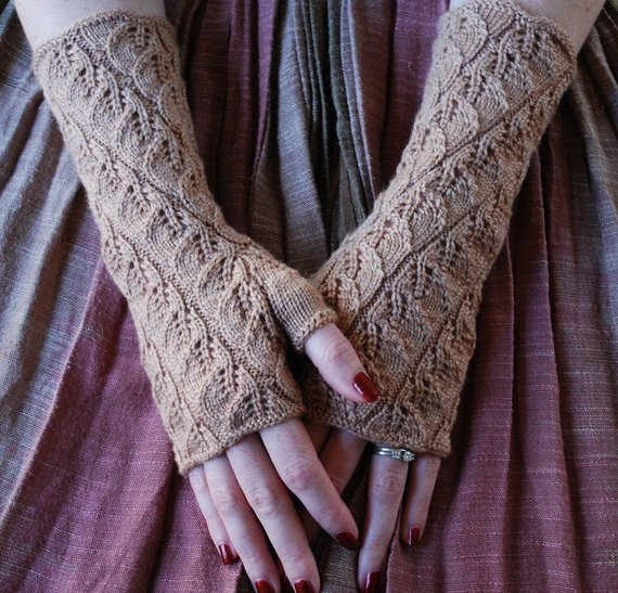 Luxury Pdf Spiraling Leaves Fingerless Gloves Knitting Pattern Knitted Fingerless Mittens Of Luxury 48 Images Knitted Fingerless Mittens