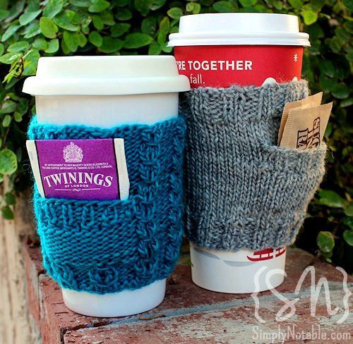 Luxury Pick A Pocket Cozies Simply Notable Knit Coffee Cozy Of Luxury 48 Photos Knit Coffee Cozy