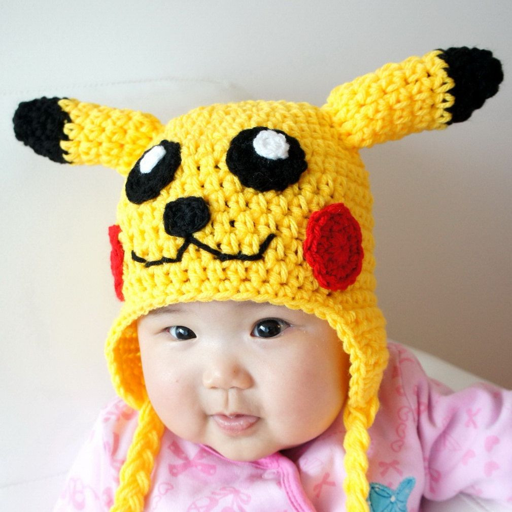 Luxury Pikachu Hat Pokemon Crochet Baby Hat Baby Hat Animal Baby Animal Hats Of Attractive 49 Images Baby Animal Hats