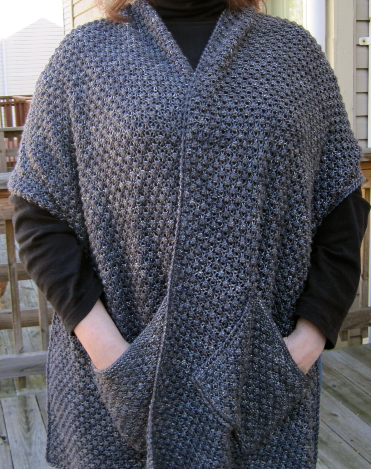 Luxury Pocket Wrap Knitting Patterns Knitted Shawl Wrap Of Superb 49 Images Knitted Shawl Wrap