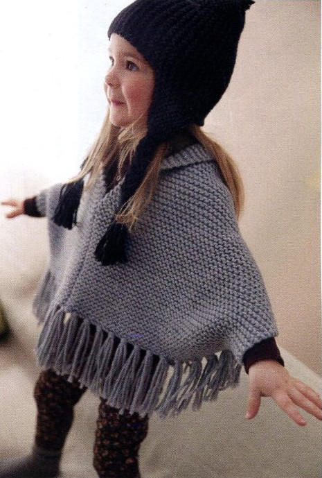 Luxury Ponchos for Babies and Children Knitting Patterns Baby Poncho Knitting Pattern Of Amazing 42 Pics Baby Poncho Knitting Pattern