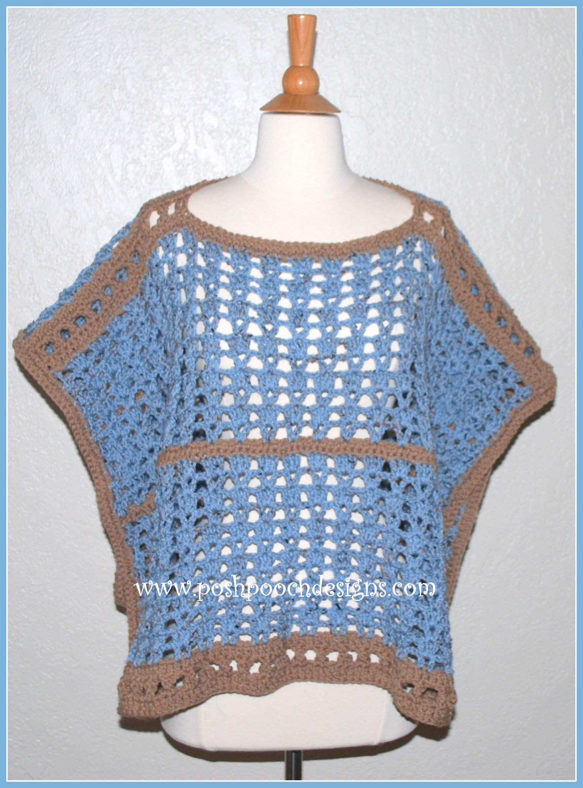 Luxury Posh Pooch Designs Dog Clothes Sand and Sea Poncho Free Ponco Crochet Of Great 49 Images Ponco Crochet