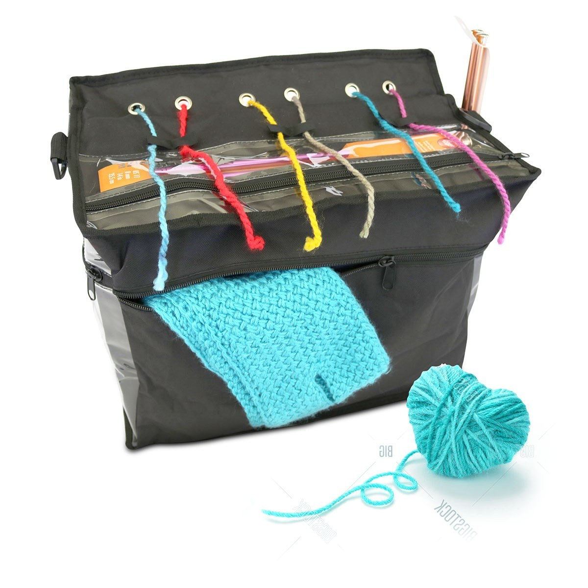 Premium Knitting Bag Tote and Organizer • TheBornTo