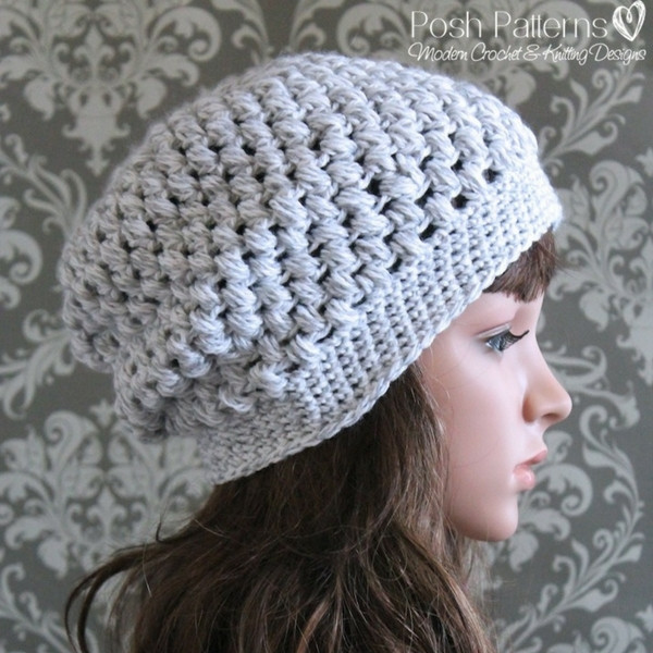 Luxury Puff Stitch Slouchy Hat Crochet Pattern Puff Crochet Of Great 49 Ideas Puff Crochet