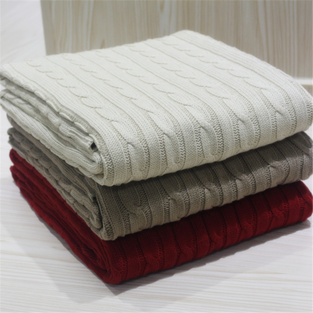 Luxury Quality Cotton Cable Knit Throw or Blanket Bed Throw Cotton Knit Blanket Of Innovative 42 Models Cotton Knit Blanket