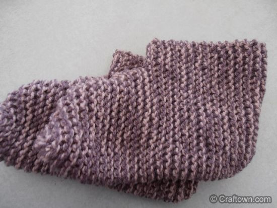 Quick n Easy Adult booties knit pattern