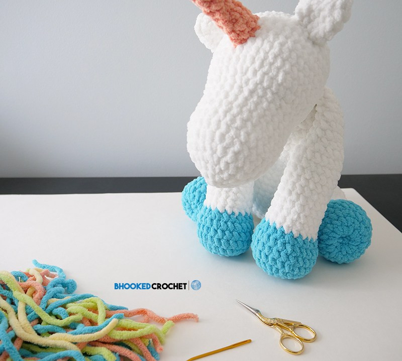 "Luxury ""cuddles"" Crochet Unicorn with Bernat Blanket Yarn Free Crochet Unicorn Blanket Pattern Of Marvelous 48 Photos Crochet Unicorn Blanket Pattern"
