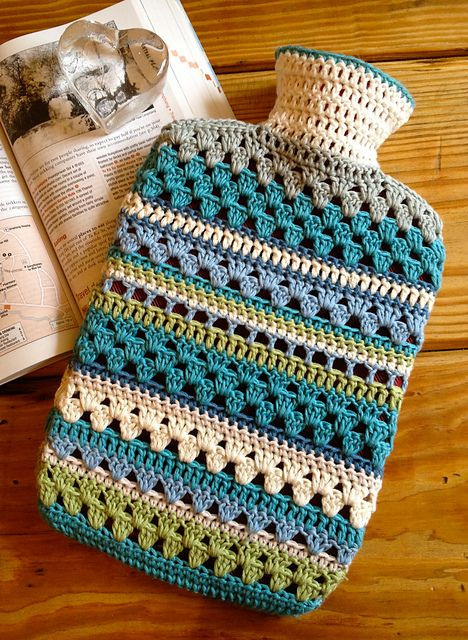 Luxury Ravelry Mixed Stitch Crocheted Hot Water Bottle Cover Crochet Cover Up Pattern Of Amazing 43 Ideas Crochet Cover Up Pattern