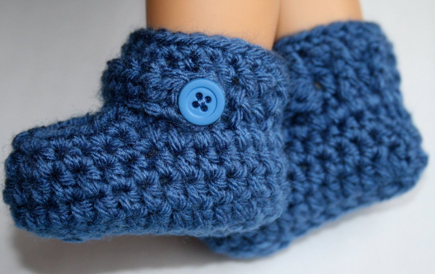 Luxury Ready to Ship Colonial Blue Baby Boy Crochet Booties Shoes 0 3 Crochet Baby Boy Booties Of Luxury 45 Models Crochet Baby Boy Booties