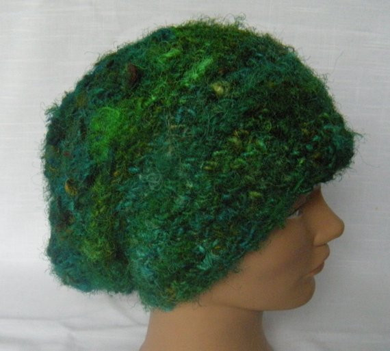 Luxury Recycled Silk Sari Yarn Emerald Green Hat Slouchy Emerald Green Yarn Of Gorgeous 43 Pics Emerald Green Yarn
