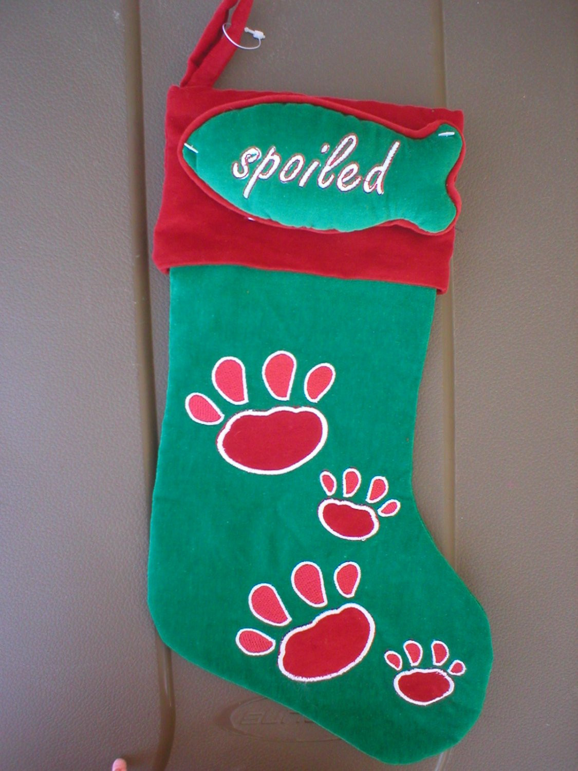 Luxury Red & Green Christmas Dog Paw Stocking with toy New Dog Paw Stocking Of Charming 44 Ideas Dog Paw Stocking