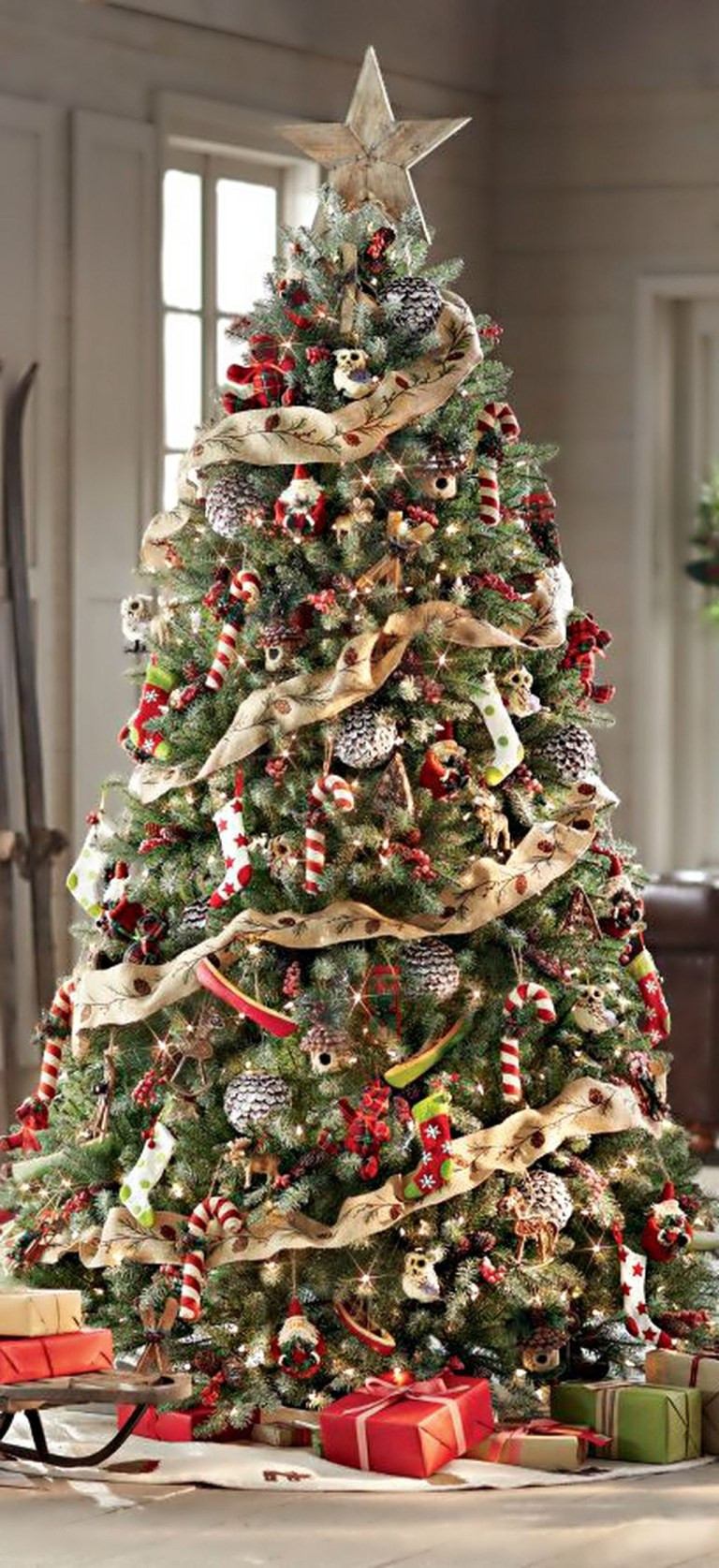 Luxury Red and Gold Christmas Tree Decoration Ideas that are Christmas Tree and Decorations Of Delightful 50 Pictures Christmas Tree and Decorations
