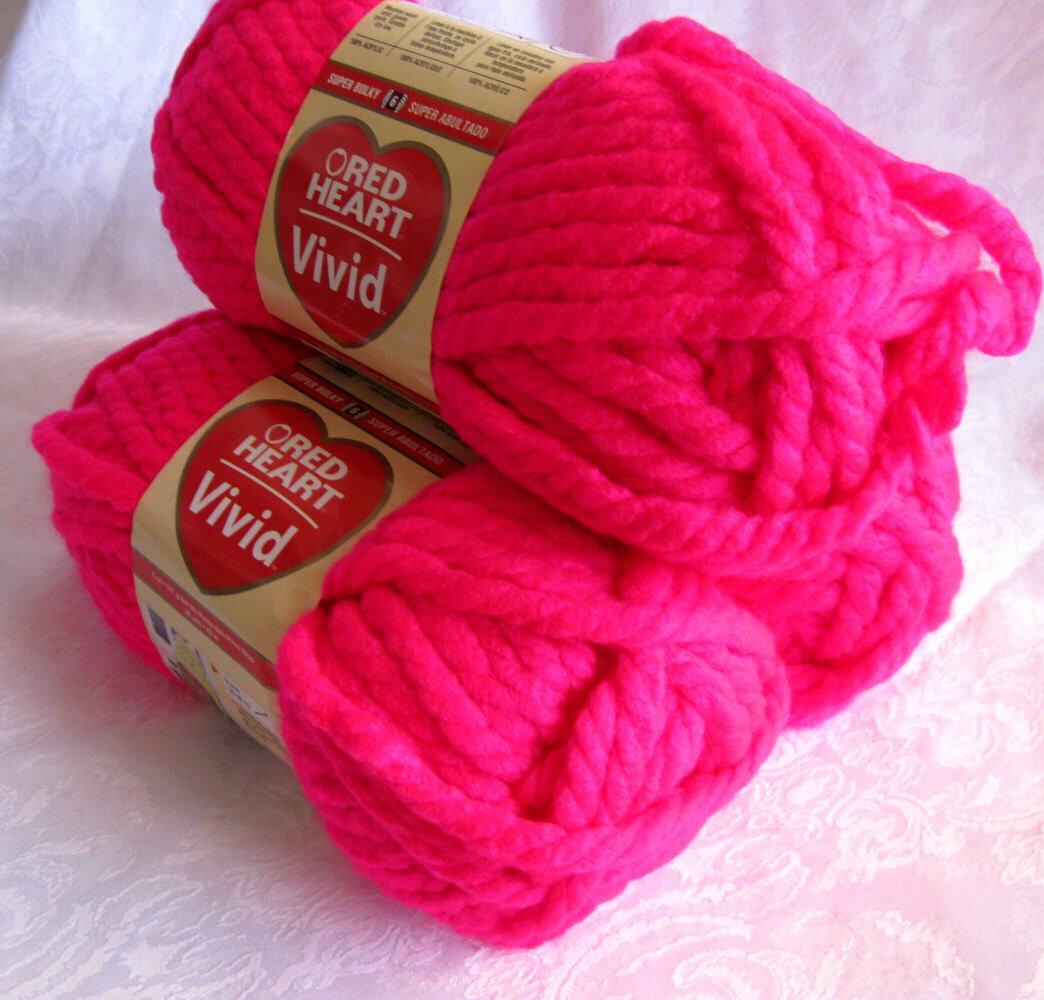 Luxury Red Heart Vivid Yarn Powerful Pink Super Bulky Neon by Red Heart Bulky Yarn Of Fresh 50 Pictures Red Heart Bulky Yarn