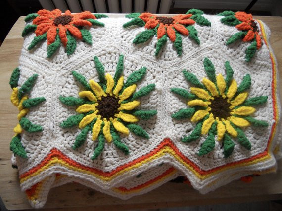 Luxury Reserved Sunflower Granny Square Crochet Blanket Crochet Sunflower Granny Square Of Delightful 41 Images Crochet Sunflower Granny Square