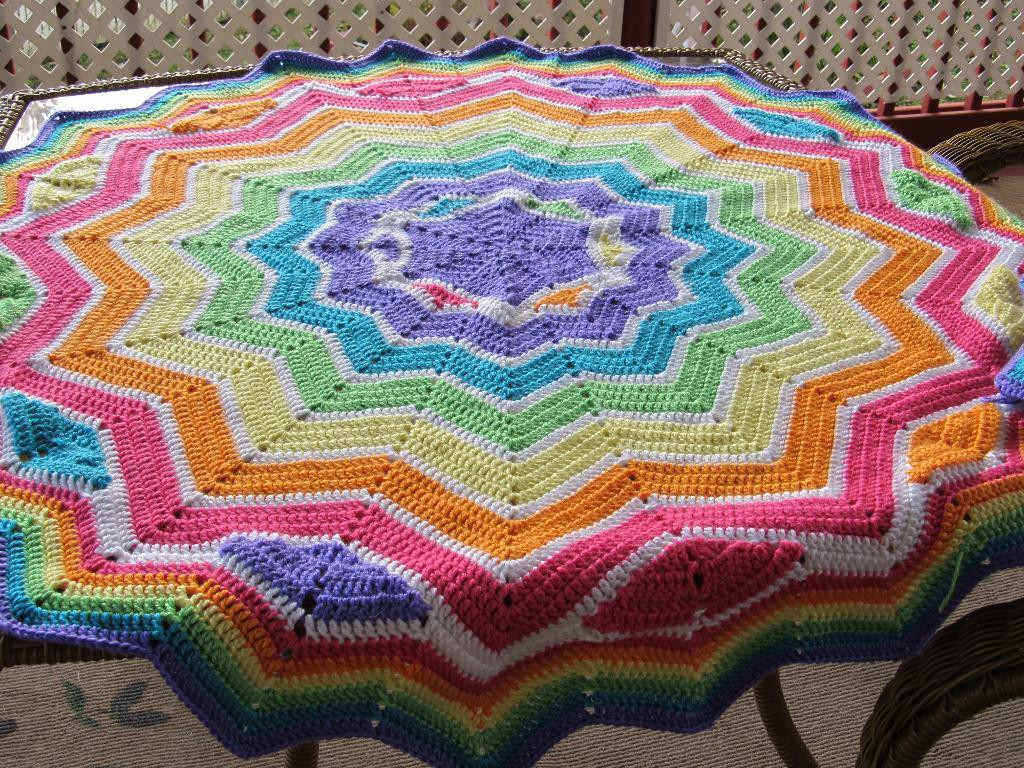 Luxury Round Ripple Crochet Pattern – Easy Crochet Patterns Round Afghan Crochet Pattern Of Great 44 Photos Round Afghan Crochet Pattern