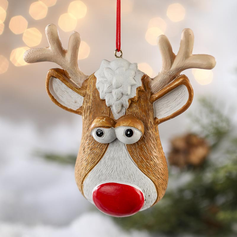 Luxury Rudolph the Red Nose Reindeer ornament Christmas Christmas Reindeer ornaments Of Adorable 44 Pictures Christmas Reindeer ornaments