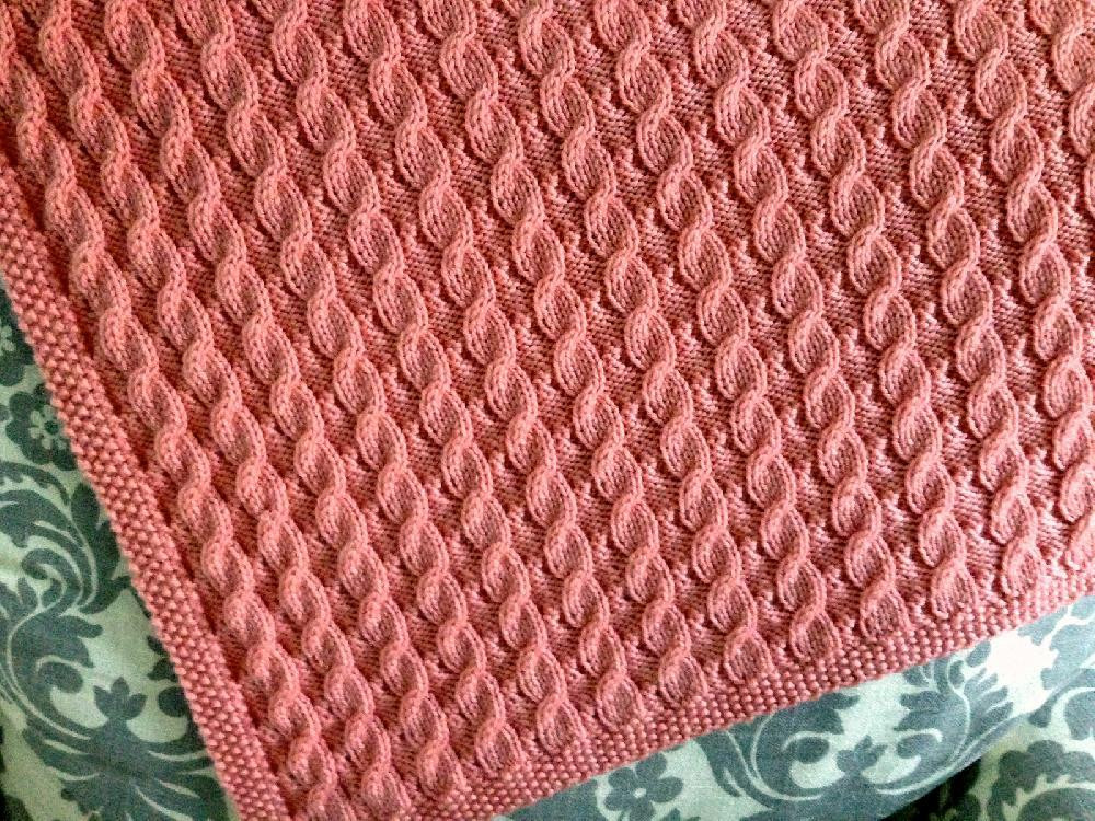 Luxury Scarlett S Reversible Cable Baby Blanket Knitting Pattern Cable Knit Baby Blanket Of Amazing 41 Photos Cable Knit Baby Blanket