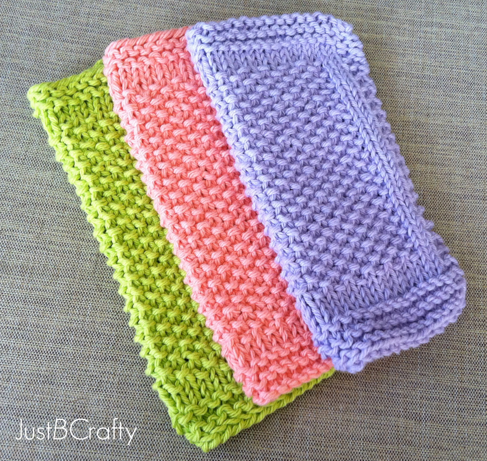 Luxury Seed Stitch Dishcloths Just Be Crafty Free Easy Knitting Patterns Of Gorgeous 46 Models Free Easy Knitting Patterns
