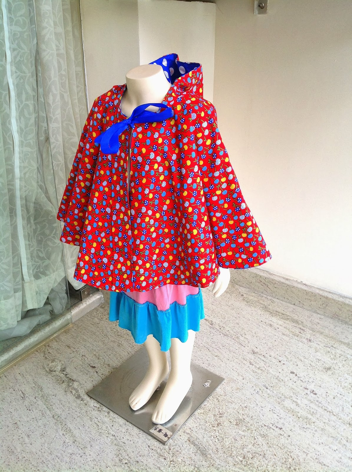 Sewing Patterns for Girls Dresses and Skirts Cape with