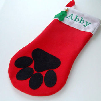 Luxury Shop Dog Christmas Stockings On Wanelo Dog Paw Stocking Of Charming 44 Ideas Dog Paw Stocking