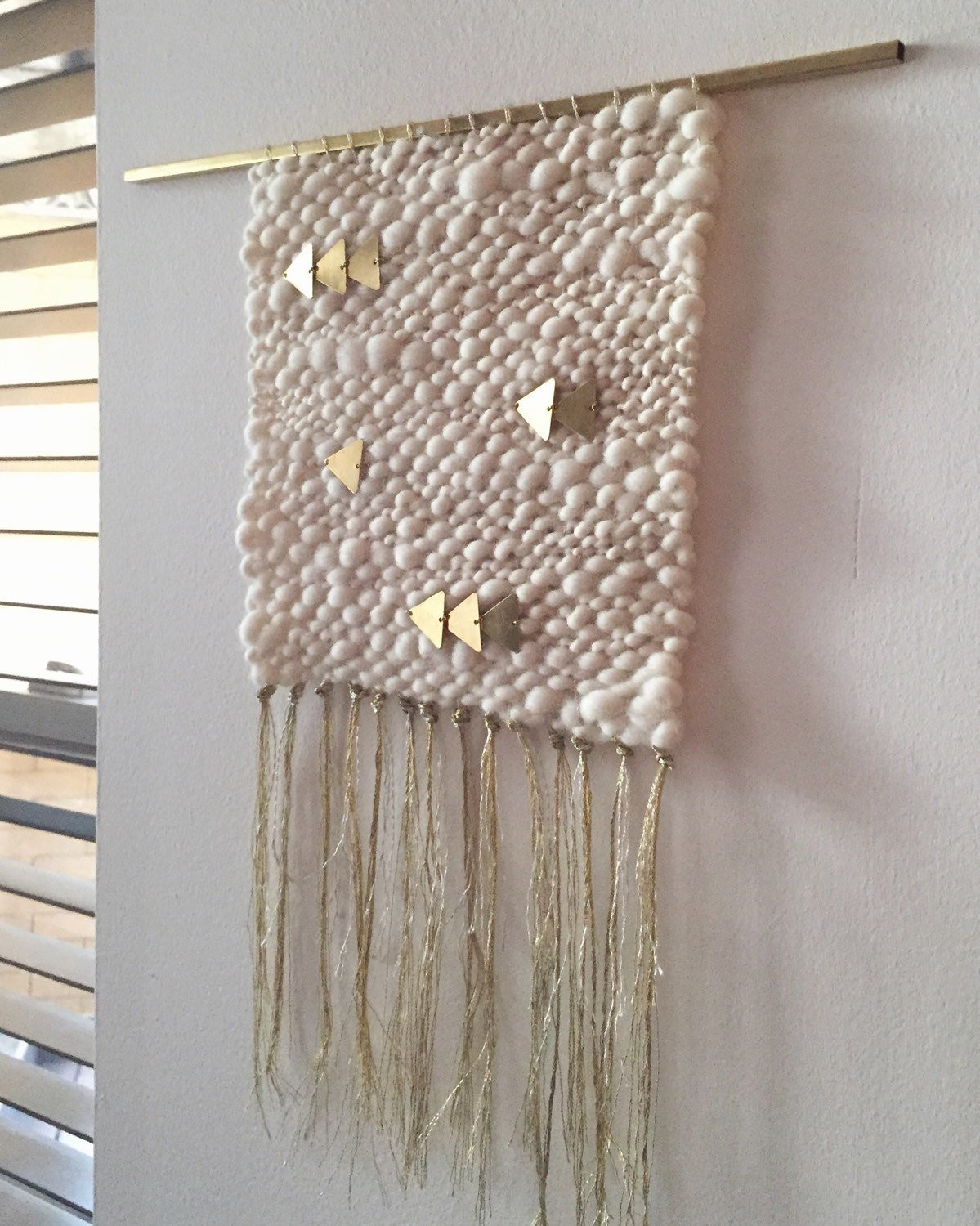 Luxury Silver & Gold Cream Woven Wall Hanging Weaving by Weaving Wall Hanging Of Brilliant 43 Models Weaving Wall Hanging