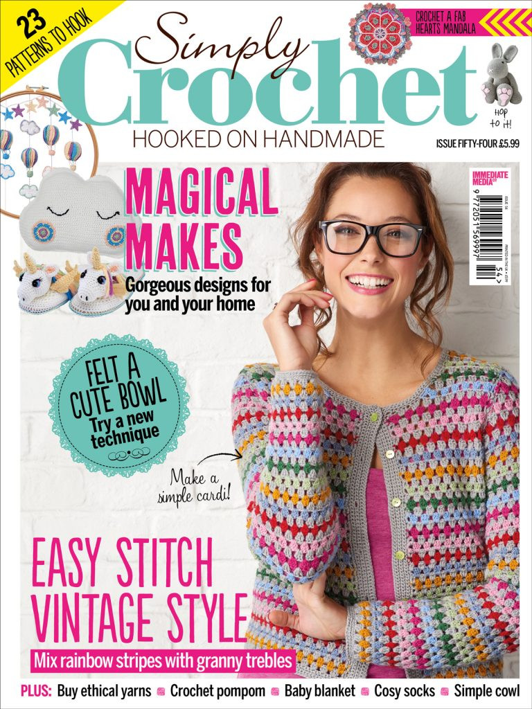 Simply Crochet issue 54 on sale now Simply Crochet