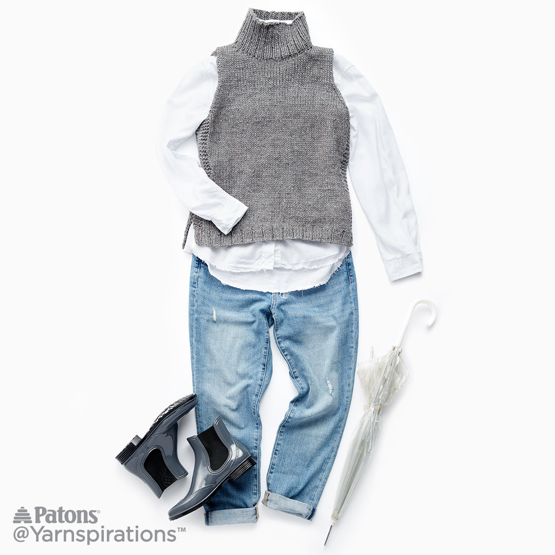 Luxury Sleeveless Knit Turtleneck Knit Pattern Patons Alpaca Blend Of Attractive 44 Images Patons Alpaca Blend