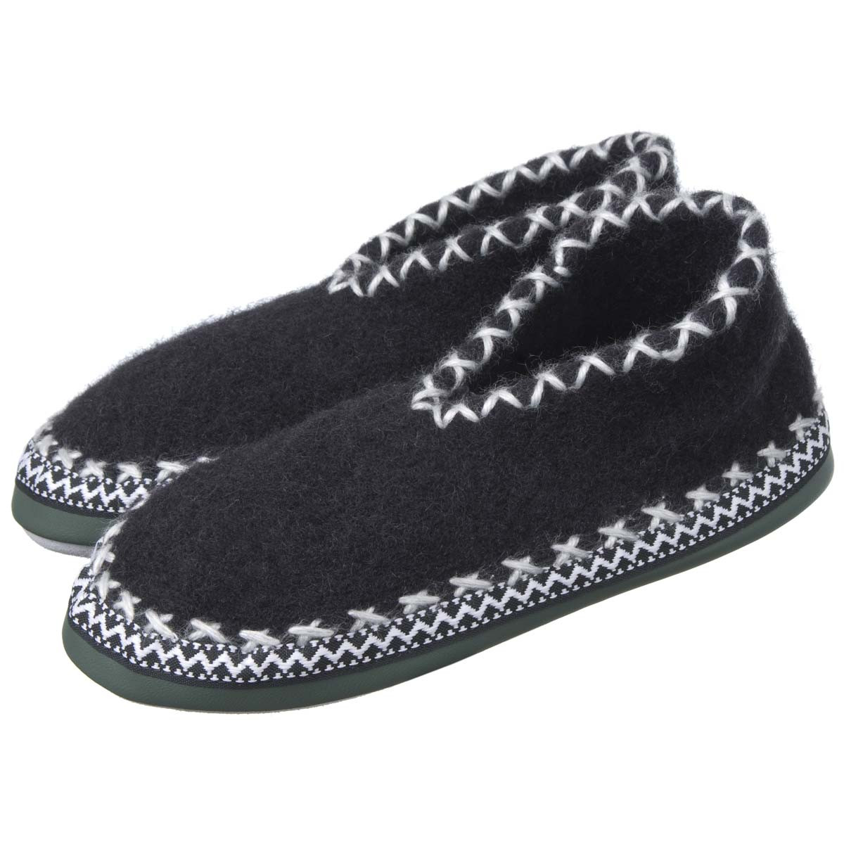 Luxury Slippers In soft Wool with Leather sole Leather sole Slippers Of Fresh 46 Models Leather sole Slippers