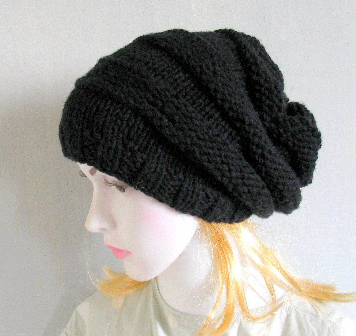Luxury Slouchy Beanie Black Slouchy Beanie Slouchy Knit Hat Women Slouchy Winter Hat Of Top 47 Models Slouchy Winter Hat
