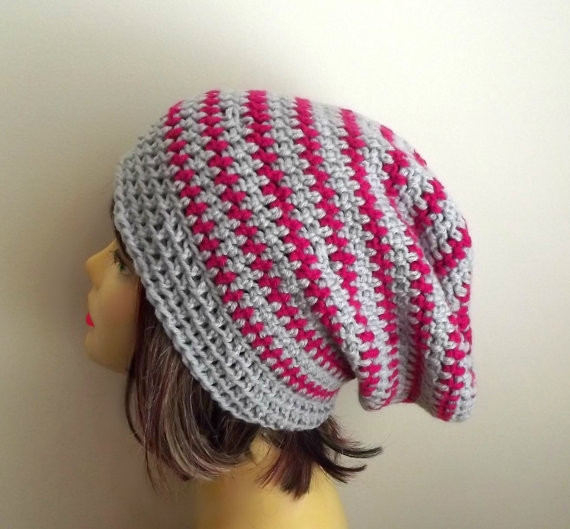 Luxury Slouchy Beanie Crochet Slouch Hat Grey Hot Pink Beanie Pink Crochet Hat Of Great 43 Models Pink Crochet Hat