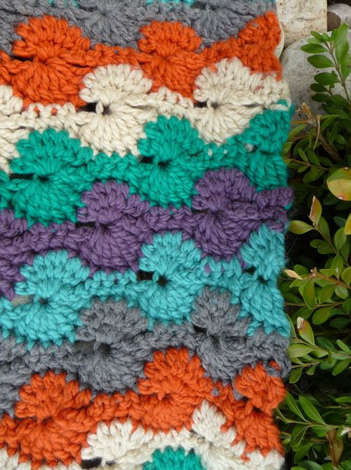 Luxury soft Catherine Wheel Throw by Michael Sellick ©2012 the Crochet Crowd Patterns Of Perfect 49 Ideas Crochet Crowd Patterns