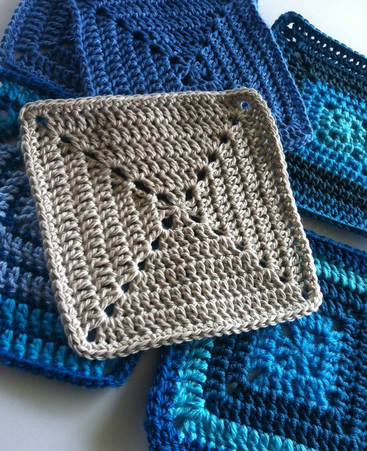 Solid Granny Square Motif For Beginners By Shelley Husband
