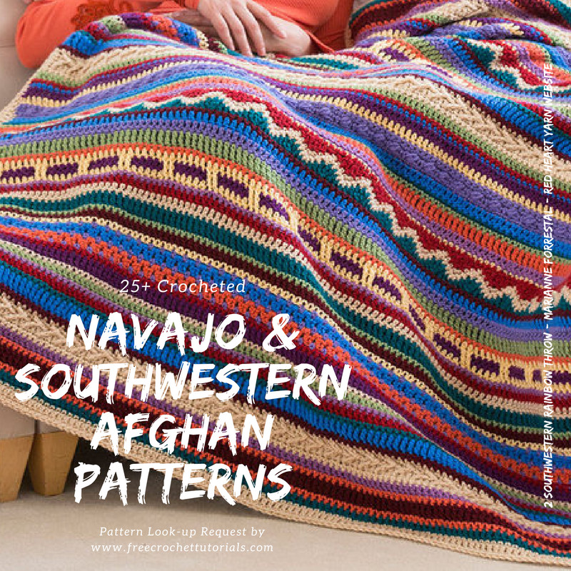 Luxury southwestern Style Crochet Blanket Patterns Navajo Navajo Afghan Pattern Crochet Of Marvelous 42 Images Navajo Afghan Pattern Crochet